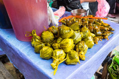 Juane a Peruvian Amazonian food Stock Photo