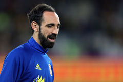Juanfran. Juan Francisco Torres Belen defender of the Spanish National Football Team, pictured during the friendly match between Romania and Spain, played at royalty free stock images