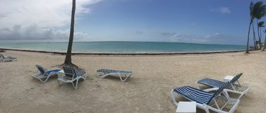 Juanillo海滩 免版税库存照片
