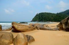 Juara beach. Tioman island, Malaysia stock image
