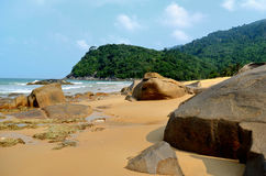 Juara beach. Tioman island, Malaysia stock photos