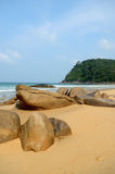 Juara beach. Tioman island, Malaysia royalty free stock images