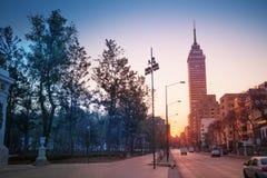 Juarez Avenue near central Alameda park, Mexico Stock Photography