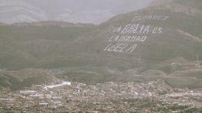 Juarez Meksyk zbocze zdjęcie wideo