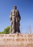 Juarez Statue Hill of Bells Queretaro Mexico. Large Statue Benito Juarez Hill of Bells, Queretaro Mexico erected in 1967 Royalty Free Stock Photos