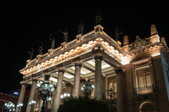 Juarez Theater, Guanajuato (Mexico) Stock Images