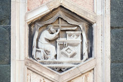 Jubal, Florence Cathedral royalty free stock photo