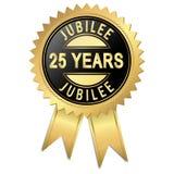 Jubiläum - 25 Jahre Lizenzfreie Stockfotografie