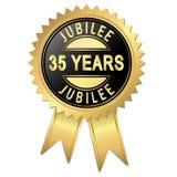 Jubiläum - 35 Jahre Stock Abbildung