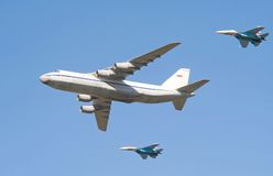 Jubilé russe 2 de l'Armée de l'Air Images libres de droits