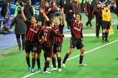 Jubilant Milan Royalty Free Stock Images