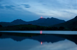 Jubilee Beacon - Snowdon Royalty Free Stock Photos