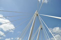 Jubilee Bridge Royalty Free Stock Images
