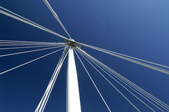 Jubilee bridge, London, UK Royalty Free Stock Photos