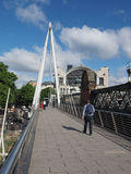 Jubilee Bridge in London Stock Photos
