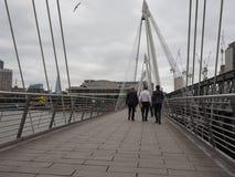 Jubilee Bridge in London Royalty Free Stock Image