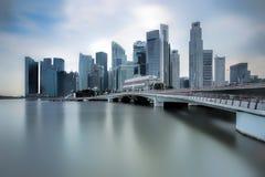 Jubilee Bridge Singapore Stock Images