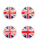 Jubilee Buttons royalty free illustration