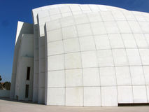 Jubilee Church. The Jubilee Church by Richard Meier in Rome.  A new modernist approach to religious architecture referring back to the semiotics of sailing Royalty Free Stock Photography