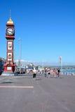 Jubilee clock on Esplanade, Weymouth. Stock Photo