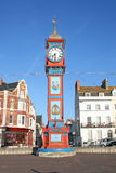 Jubilee clock tower. Royalty Free Stock Photos