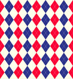 Jubilee colours argyle background Stock Images
