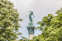 Jubilee Column at Castle Square in Stuttgart, Germany Royalty Free Stock Photos