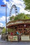 Jubilee Gardens, London Stock Photo