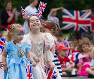Jubilee Girls Royalty Free Stock Photography