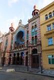 Jubilee Synagogue, Czech Jubilejn� synagoga Royalty Free Stock Image