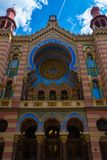 Jubilee Synagogue in Prague Royalty Free Stock Photo