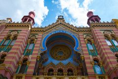 Jubilee Synagogue in Prague Stock Photo