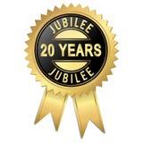 Jubileo - 20 años Fotos de archivo