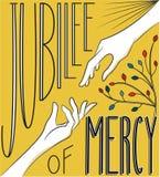 Jubileo de la misericordia Imagen de archivo libre de regalías