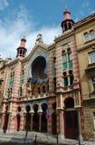 Jubileo o sinagoga de Jerusalén en Praga Imágenes de archivo libres de regalías