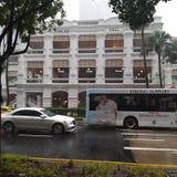 Jubileum Hall Raffles Hotel royaltyfri bild