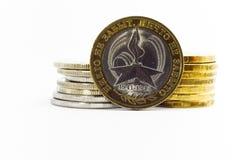 Jubileum tien roebels Royalty-vrije Stock Fotografie