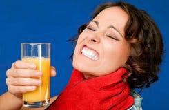 juce λαιμός δίψας πόνου στοκ εικόνα με δικαίωμα ελεύθερης χρήσης