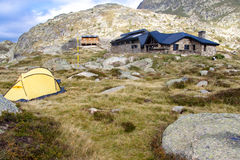 Jucla Refuge, Andorra Stock Image