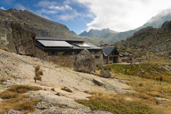 Jucla Refuge, Andorra, Pyrenees Stock Images