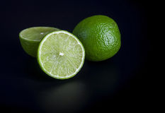 Jucy limes Stock Photography