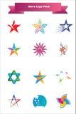 juczne logo gwiazdy Obrazy Royalty Free
