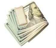 Juczni dolary odizolowywali biel Zdjęcie Stock