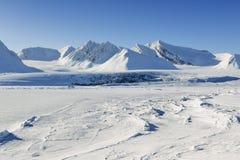 Juczny lód Zdjęcia Royalty Free