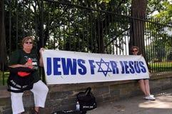 Judíos para Jesús imágenes de archivo libres de regalías