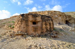 judaean的沙漠 免版税库存照片