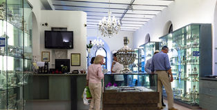 Judaic store on Mamilla street. Jerusalem. Israel Stock Images