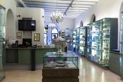 Judaic store on Mamilla street Royalty Free Stock Photo