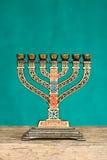 Judaica menorah royalty free stock photo