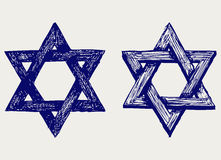 Judaische Religion lizenzfreie abbildung
